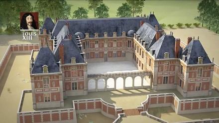 Jak powstawał Wersal – animacja 3D