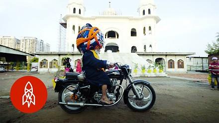 Baba Singh i jego największy na świecie turban