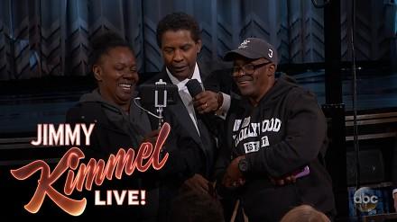 Jimmy Kimmel robi niespodziankę turystom odwiedzającym Hollywood