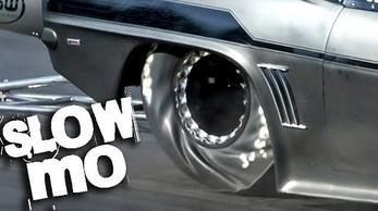 Drag Racing w slow motion