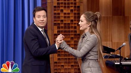 Jimmy Fallon w tanecznym pojedynku z Jennifer Lopez