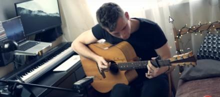 """Polski gitarzysta fingerstyle gra piosenkę Alana Walkera """"Alone"""""""