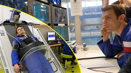 SciFun przygotowuje się do lotu w kosmos w Europejskim Centrum Astronautów
