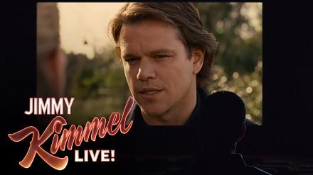 Jimmy Kimmel składa hołd Mattowi Damonowi podczas Oscarów