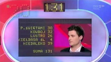 Miał tylko 69 punktów do zdobycia, ale w finale mu nie szło