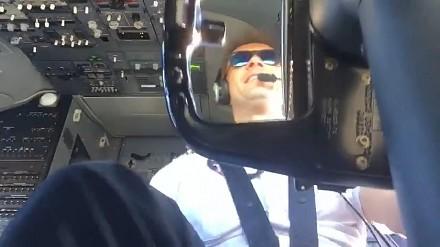 Oto dlaczego piloci zarabiają tak dużo. Artur Kielak ląduje Boeingiem 737 w silnym wietrze