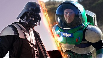 Darth Vader kontra Buzz Lightyear