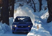 Subaru WRX STI na torze bobslejowym