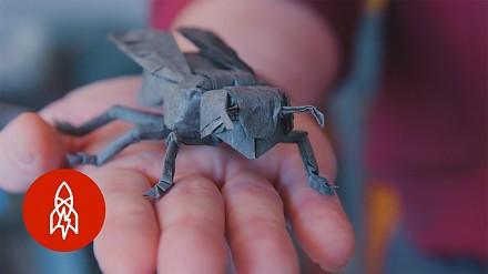 Historia człowieka, który rzucił pracę w NASA, by robić origami