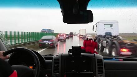 Korytarz ratunkowy na autostradzie A4