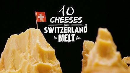 10 serów szwajcarskich, które roztopią się na twoich oczach