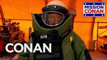 Conan wstępuje do saperów