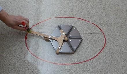 Elipsograf, czyli cyrkiel Archimedesa - ciekawostka nie tylko dla geeków