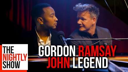 John Legend wyśpiewuje obelgi Gordona Ramsaya