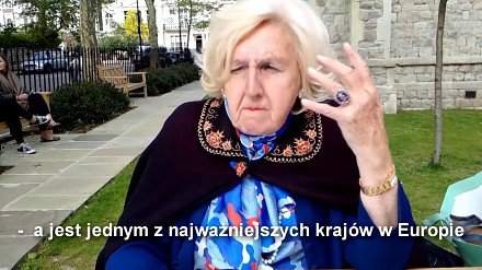 Szwedzka księżna Frankopan z apelem do Polaków: Nie bójcie się!