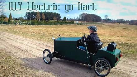 Samochód elektryczny domowej roboty