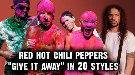 "Red Hot Chili Peppers - ""Give It Away"" w 20 stylach"