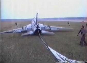 Awaryjne lądowanie Su-22
