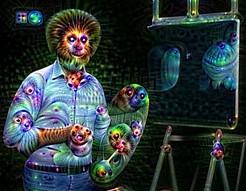 DeepDream Googla vs Bob Ross - prawie jak po LSD