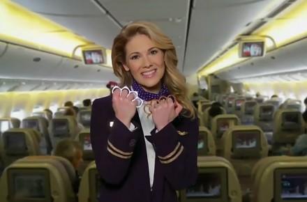 Do bólu szczera reklama linii United Airlines