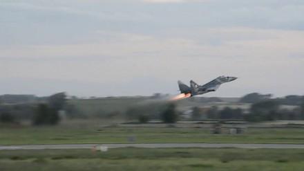 MiG 29 - pokaz dynamiczny