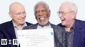 M. Freeman, Sir M. Caine oraz A. Arkin odpowiadają na najczęściej googlowane pytania ich dotyczące
