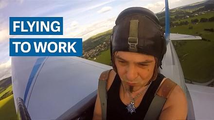 Zbudował samolot, by skrócić czas dojazdu do pracy o 7 minut