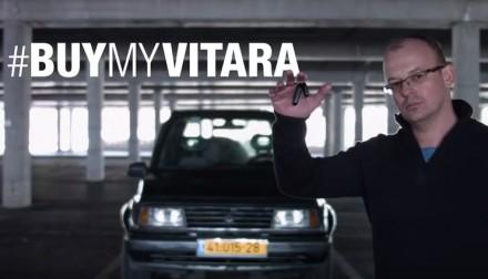 Tak się robi ogłoszenie o sprzedaży samochodu. Akcja #BUYMYVITARA