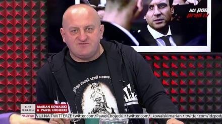 Marian Kowalski i jego riposta na słowa Macrona