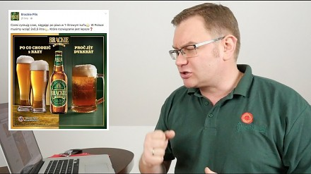 Kopyr po raz kolejny masakruje piwne reklamy