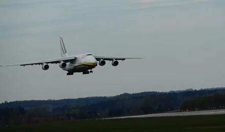 Ukraiński transportowy gigant wylądował w Gdańsku