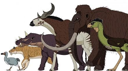 Człowiek vs. giganty kenozoiku