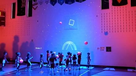 Rozszerzona rzeczywistość zmienia salę gimnastyczną w interaktywny plac zabaw