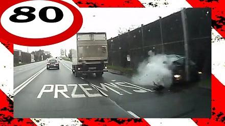 Wypadki i niebezpieczne sytuacje na polskich drogach
