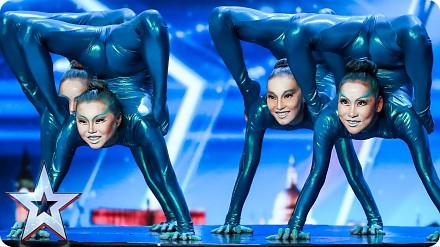 Angara Contortion przybyły z innej planety prosto do Britain's Got Talent