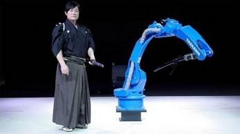 Mistrz katany kontra robot nią władający