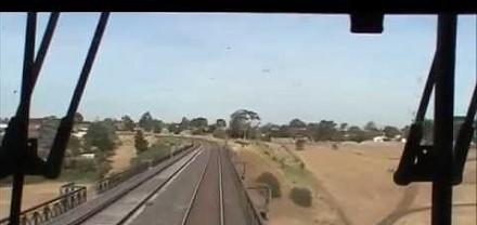Przerażajacy moment w pociągu, który był o włos od wykolejenia