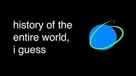 Historia całego świata w niecałe 20 minut