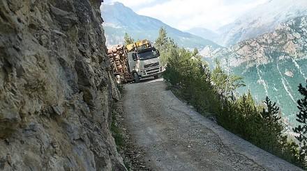 Ekstremalny transport drewna