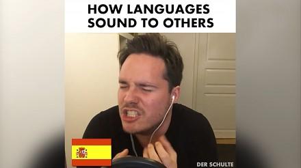 Jak różne języki brzmią dla innych?