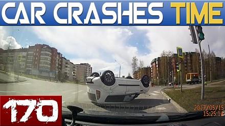 Kompilacja wypadków samochodowych z Rosji i nie tylko
