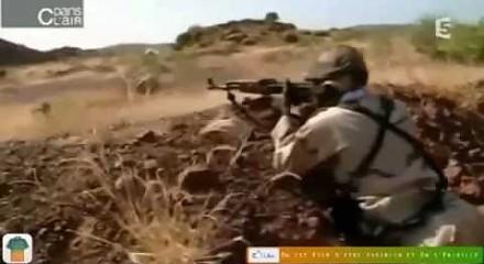 Ostry trening malijskich żołnierzy