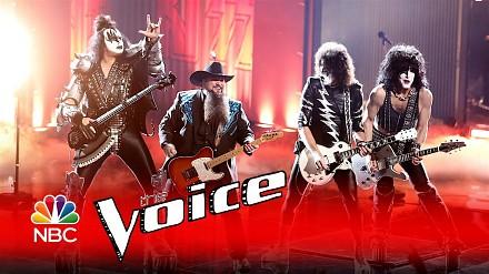 Finał The Voice i zespół KISS