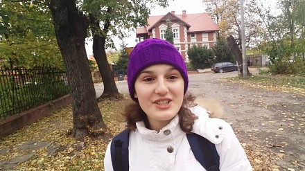 Młoda Ukrainka o swoich wrażeniach z pobytu w Polsce