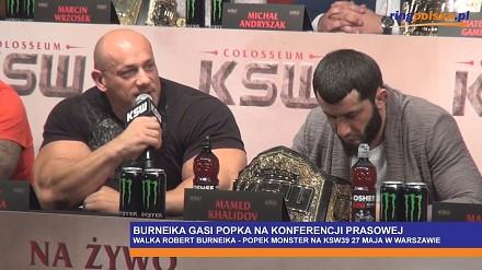 Hardkorowy Koksu gasi Popka na konferencji prasowej przed walką