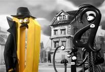 Kto ukradł literkom kropki i kreski? Czy detektyw poradzi sobie z zagadką?