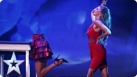 Seksowna Josephine Lee w magicznym występie na żywo