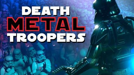 Gdyby szturmowcy założyli kapelę - Death METAL Troopers