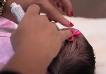 Brazylijski klej dla niemowląt