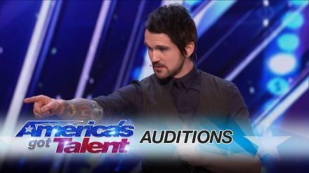 Prawdziwy Sherlock Holmes - America's Got Talent
